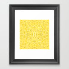 Radiate - Freesia Framed Art Print