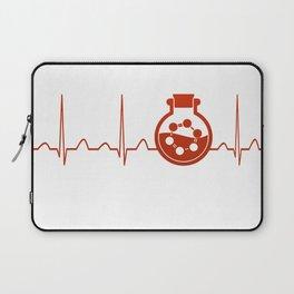 Biochemist Heartbeat Laptop Sleeve