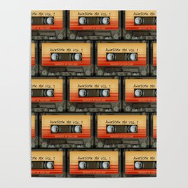 Awesome Guardian Cassette Vol 1 Poster