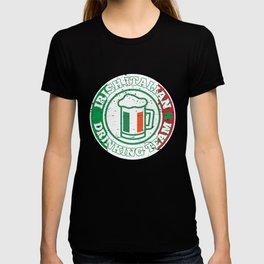 Irish Italian Drinking Team Italy Flag St Patricks T-shirt