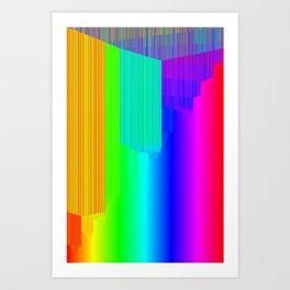 R Experiment 4 (quicksort v2) Art Print