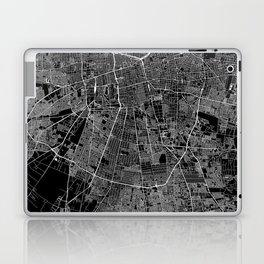 Santiago Black Map Laptop & iPad Skin