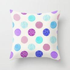 Calm Spots Throw Pillow