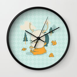 Esquilophrenic Wall Clock