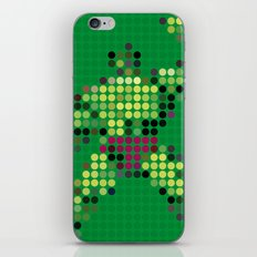 Mr Green 1 iPhone & iPod Skin