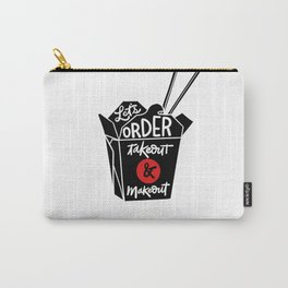 takeout & makeout Carry-All Pouch