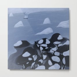 North Sea Metal Print