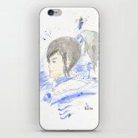 legend of korra iPhone & iPod Skins featuring Legend of Korra - Korra Watercolour by Christopher Nguyen