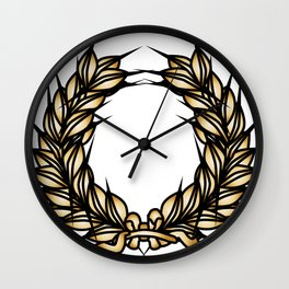 Grown Of Thorns Wall Clock