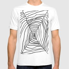 SPIDER WEB BY EDITH BOAM AGE 5 Mens Fitted Tee White MEDIUM