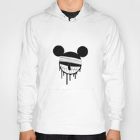 mickey Hoodies featuring Mickey by ConvictionArt