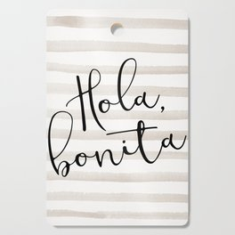 Hola Bonita Cutting Board