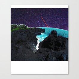 Stars in Wai' anapanapa Canvas Print