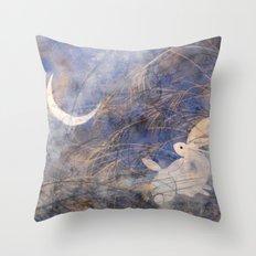 Tsuki-mi Throw Pillow