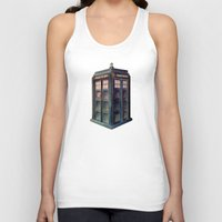 tardis Tank Tops featuring TARDIS by Jordan