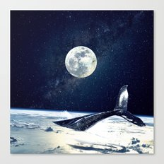 Stay in Space Canvas Print