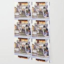 Catanzaro: flight of steps Wallpaper