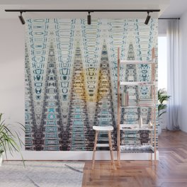 Icey Gold Gems Wall Mural