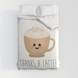 Thanks A Latte Comforters