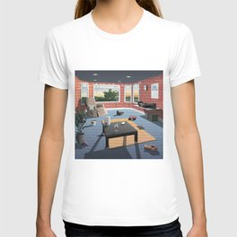 "Hippo Campus - ""Landmark"" Lyrics T-shirt"