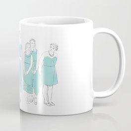Bridesmaids (aqua) Coffee Mug