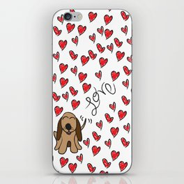 Hound Dog Love iPhone Skin