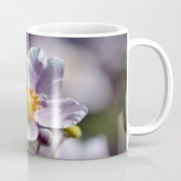 Pretty in White and Purple Coffee Mug