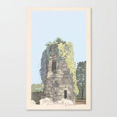 The Donnybrook Ruin Canvas Print