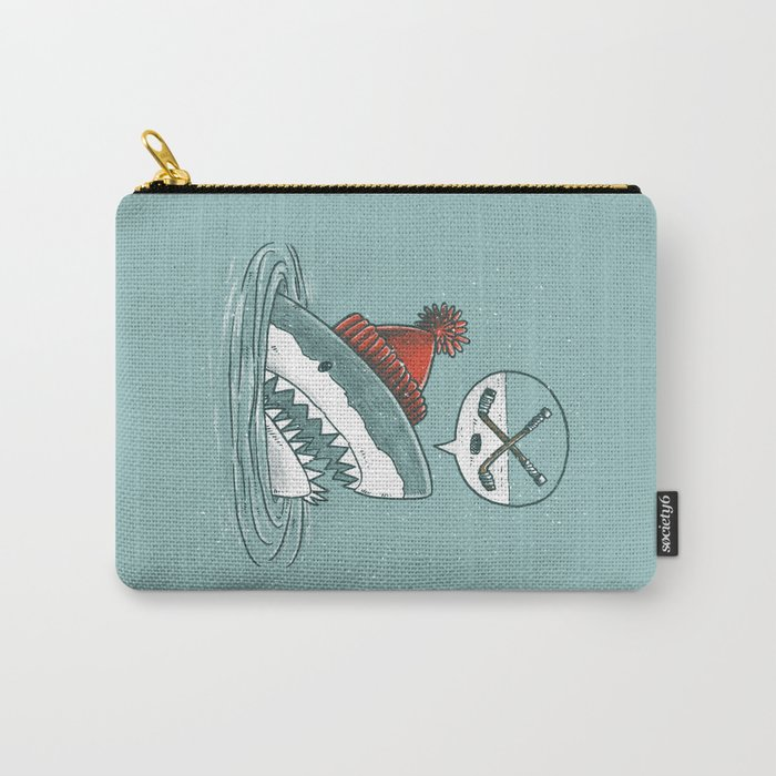 Hockey Shark Carry-All Pouch