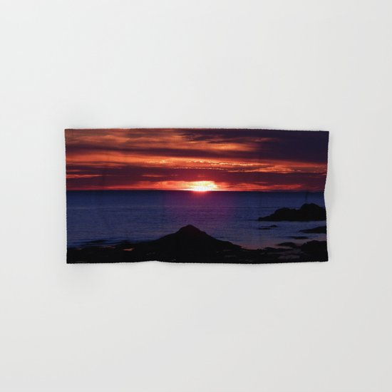 Dawn on the Sea Hand & Bath Towel