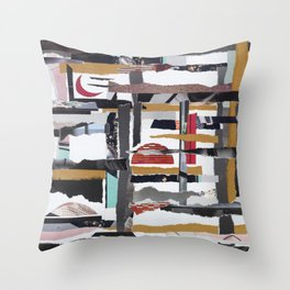 Window in my mind Throw Pillow