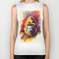 ape Biker Tanks featuring APE by Chris Brothers