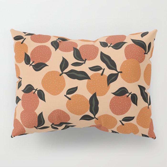 Seamless Citrus Pattern / Oranges Pillow Sham