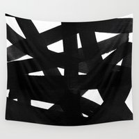 georgiana paraschiv Wall Tapestries featuring TX02 by Georgiana Paraschiv