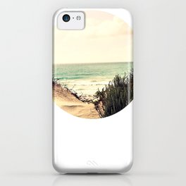 Where the sky and sea fell in love (without text) iPhone Case