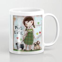 Pug Life - by Diane Duda Coffee Mug