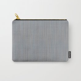 DRIFTWOOD pale blue putty grey subtle stripes pattern Carry-All Pouch