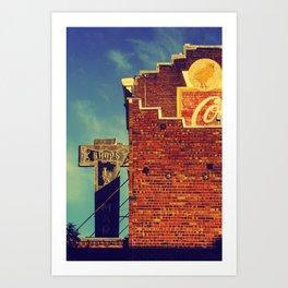 Petaluma Art Print