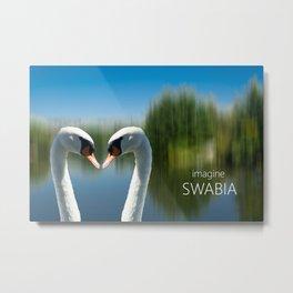 Imagine Swabia Metal Print