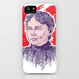 Love, Lizzie Borden iPhone Case