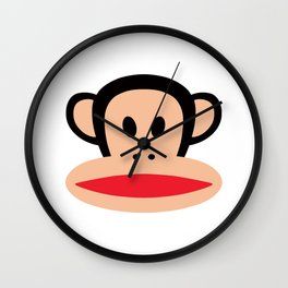 Cute Monkey (Julius Monkey) Wall Clock