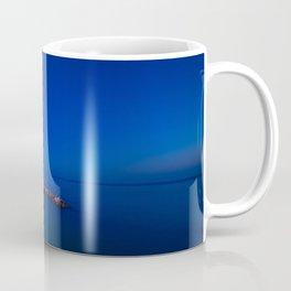 As the night falls over Manarola Coffee Mug