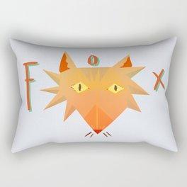 Fox Fix Rectangular Pillow