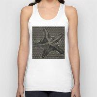 starfish Tank Tops featuring STARFISH by Mary Szulc