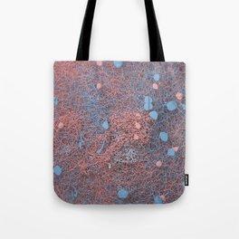 Rose Quartz and Serenity Neurons Tote Bag
