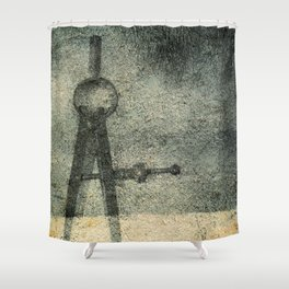 Deeper Injury Shower Curtain