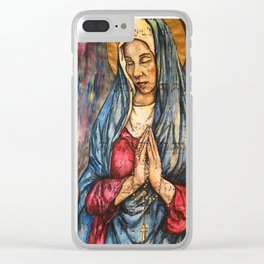 Ave Maria Clear iPhone Case
