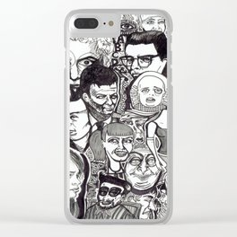 Let's Face It Clear iPhone Case