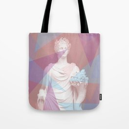 Geometric Goddess Tote Bag