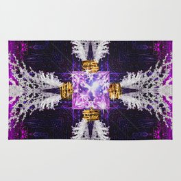 Embrace Purple Rug
